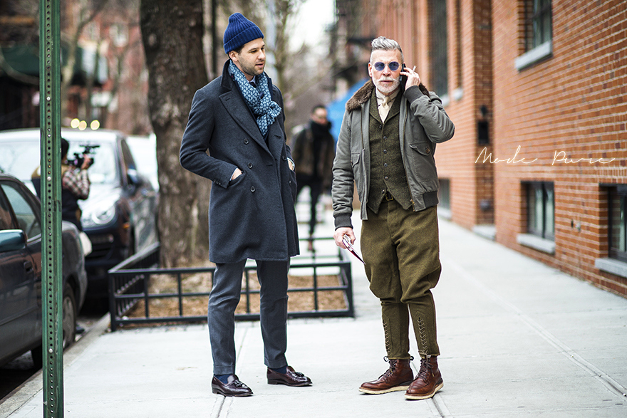 Matthew Singer & Nick Wooster | After Duckie Brown |  New York Fashion Week Fall/Winter 2013 | Feb 7, 2013.