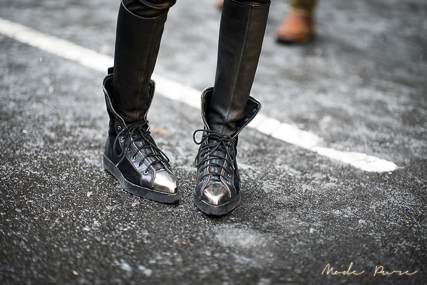 Feifei Sun | Alexander Wang shoes | after Jason Wu | New York Fashion Week Fall/Winter 2013 | Feb 8, 2013.sun feifei